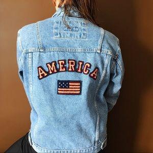 Brindar America Jean Jacket - Size Small